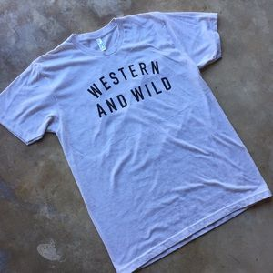 Tops - Western and Wild T-Shirt Tee